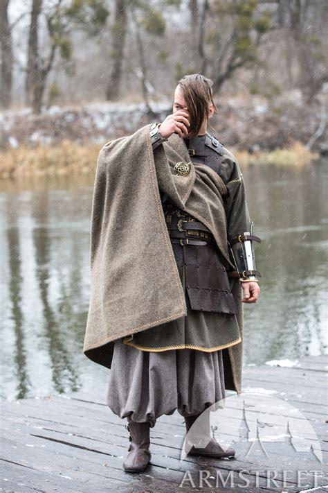 olegg  mercenary viking cloak  embroidery