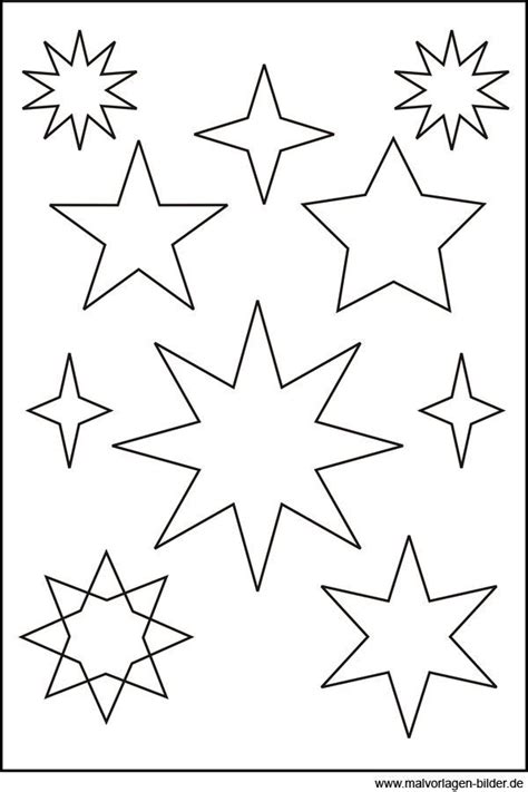 vorlagen sterne 32 besten ausmalbilder bilder auf malvorlage schablonen und sterne zum