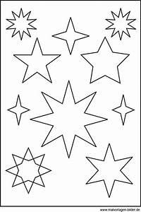 Elch Vorlage Kostenlos : 32 besten stern ausmalbilder bilder auf pinterest ~ Lizthompson.info Haus und Dekorationen
