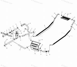 Polaris Snowmobile 2002 Oem Parts Diagram For Cooling