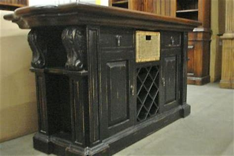 black distressed kitchen island kitchen island cottage distressed country 4665