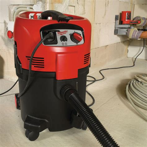milwaukee  emac  class dust extractor  volt