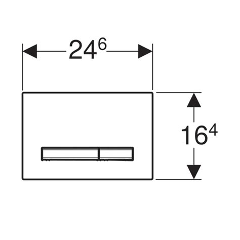 cassette da incasso geberit placca doppio comando geberit sigma50 per cassette da