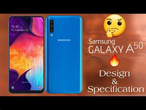 samsung galaxy a50 2019 concept design official review specification best smartphone