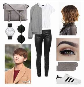 U0026quot;Ideal type of Vu0026quot; by bts-outfit-imagines liked on Polyvore featuring adidas Balenciaga Topshop ...