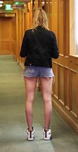 cara delevingne in denim shorts 15 gotceleb