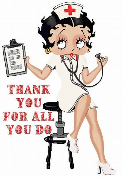 Nurse Betty Boop Gifs Animated Thank Cartoon