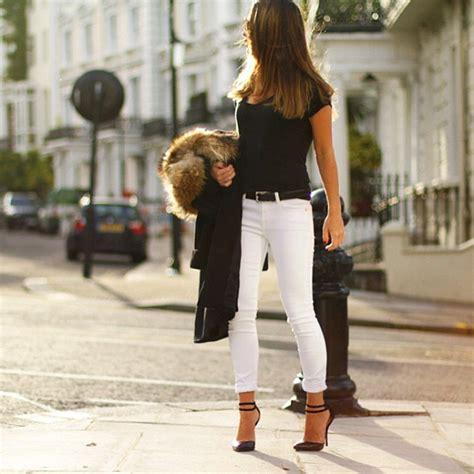 Fashion Friday White Jeans - Kinda Sorta Simple