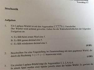 Wahrscheinlichkeit Rechnung : h tte die antwort bei aufgabe 2 auch anders lauten k nnen mathelounge ~ Themetempest.com Abrechnung