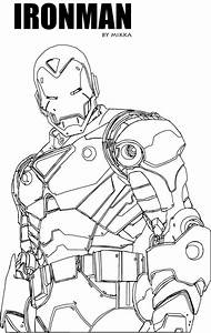 Uncolored Ironman By Spiffytool69 On Deviantart