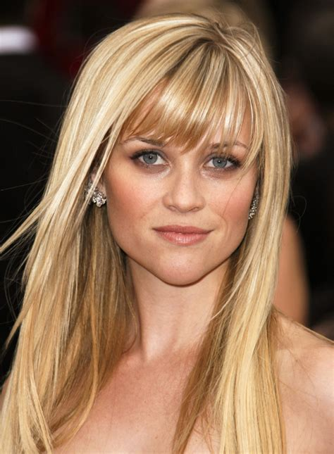 Top 10 Celebrity Hairstyles With Full Bangs And Fringes