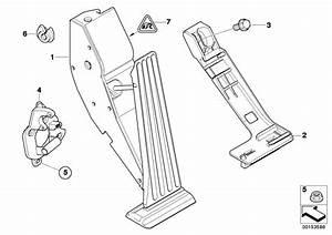2002 Bmw 330xi Accelerat Pedal Module  Manual Gearbox