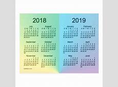 Tarjetas postales Calendario 2018 Del Zazzlees