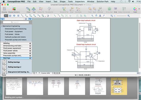 cad drawing software  making mechanic diagram