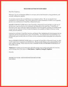 welcome email for new hire bio letter format With letter of hiring new employee
