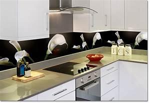 Alternative Fliesenspiegel Küche : edle glas r ckwand f r k che und bad neu bei uns ~ Markanthonyermac.com Haus und Dekorationen