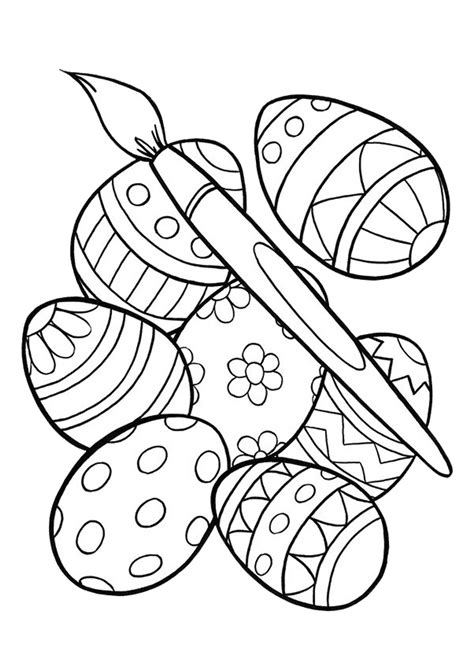 easter bunny coloring pages spring coloring pages
