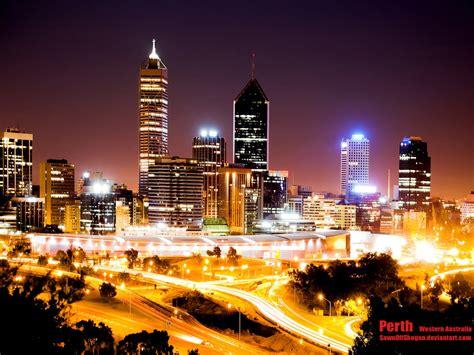 Perth Australia Night Wallpaper #13262 Wallpaper Cool