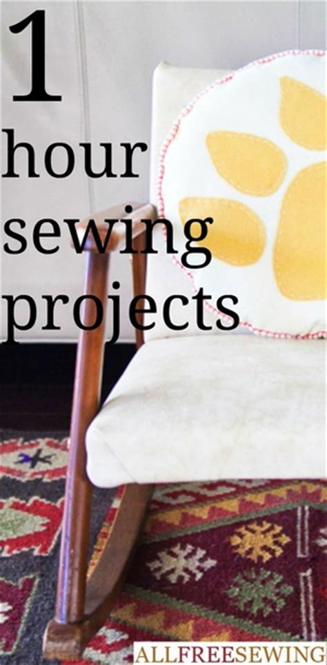 1 hour projects 200 diy sewing projects for beginners by the minute allfreesewing com