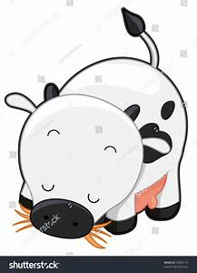 Cute Cow Vector Stock Vector 56805115 - Shutterstock