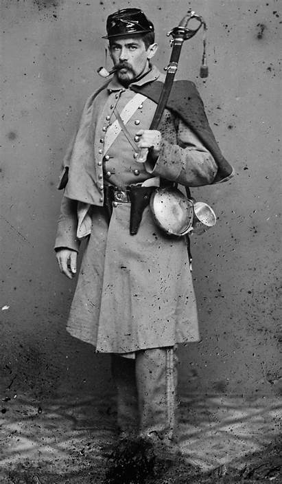 Union Soldier Civil War 7th Portrait American