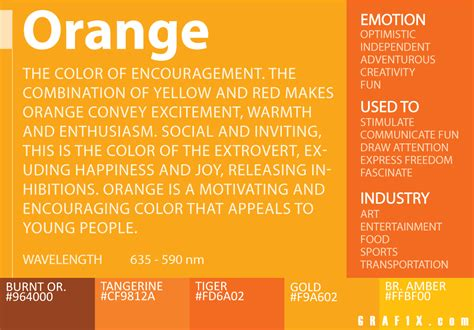 meaning of the color gold orange color meaning color meanings color
