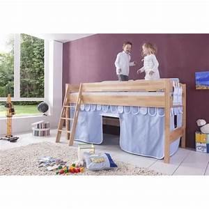 Lit Mi Hauteur Avec Rangement : 17 meilleures id es propos de lit mi hauteur sur ~ Premium-room.com Idées de Décoration