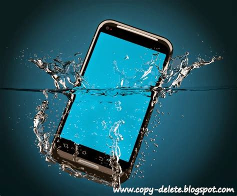 what to do if smartphone fell in water fix