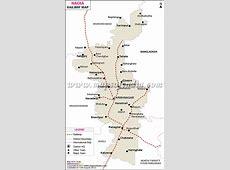 Nadia Railway Map