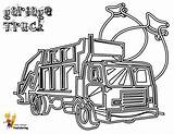 Coloring Garbage Truck Pages Printable Trucks Construction Draw Yescoloring Grimy Vehicles Categories sketch template
