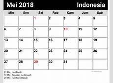 Mei 2018 kalender Download 2019 Calendar Printable with