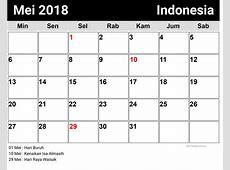 Mei, Indonesia Kalender 2018 newspicturesxyz