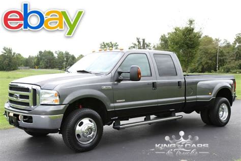 ford  crew cab dually lariat  diesel