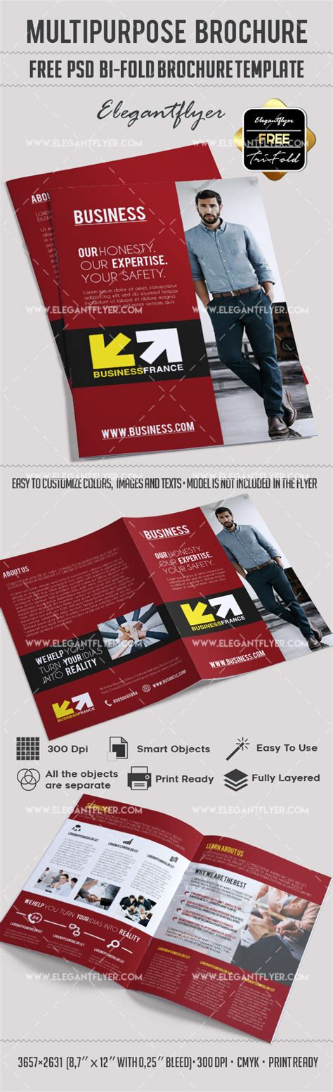 Free Multipurpose Brochure In Psd By Elegantflyer Free Multipurpose Brochure In Psd By Elegantflyer