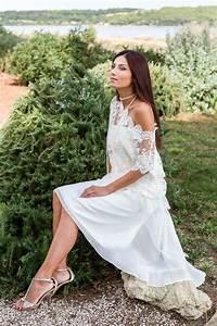 Robe Boheme Courte : armance courte robe de mariage robe de mari e courte pour ~ Melissatoandfro.com Idées de Décoration