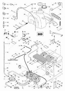 Ski Doo 1997 Mach - Z  Fuel System  809