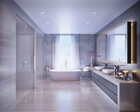 idees salles de bains avec baignoire de luxe
