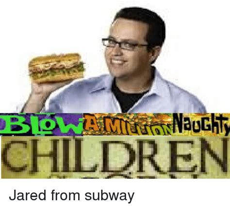 Jared Fogle Memes - children jared from subway reddit meme on sizzle