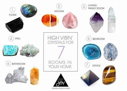 Crystals Vibin Vibing Foyer Rooms