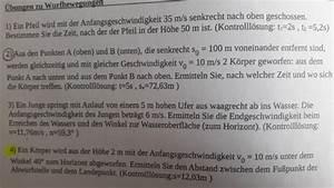 Auflagerreaktion Berechnen : formelumstellung wurfbewegungen physik berechnen ~ Themetempest.com Abrechnung