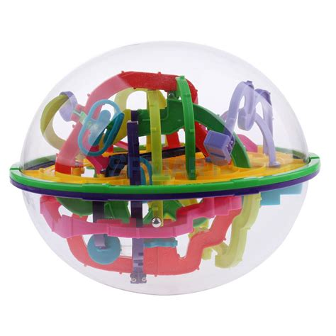 299 levels labyrinth puzzle 3d maze intellect toy finger toys balance logic
