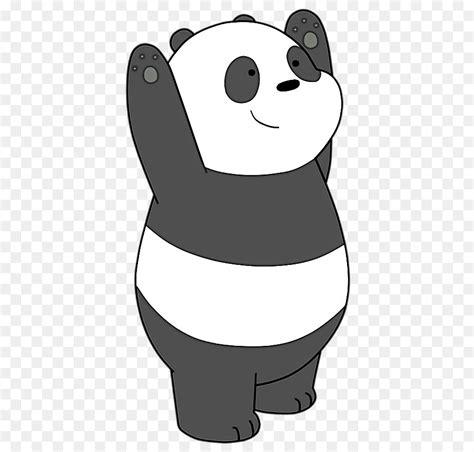 T Shirt Panda Black Metal Putih gambar kartun panda hitam putih