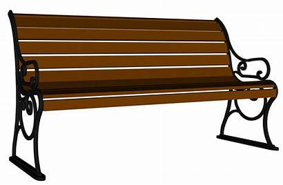 Bench Wooden Clipart Furniture Yopriceville Transparent Clip