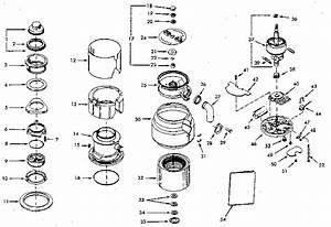 Kenmore 17569572 Garbage Disposal Parts
