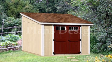 lean storage shed plans small lean shed cabin plans treesranchcom