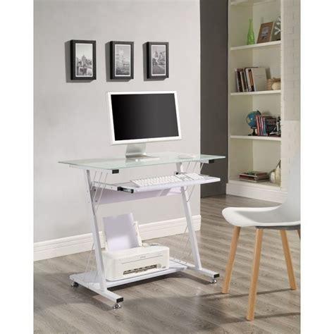 small white computer desk uk small white computer desk metal glass keyboard shelf