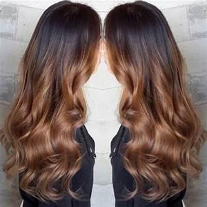 Ombré Hair Marron Caramel : tendance coiffure le ombre hair marron caramel astuces ~ Farleysfitness.com Idées de Décoration