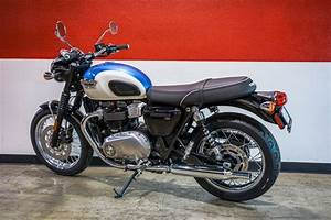 New 2017 Triumph Bonneville T100 Motorcycles in Brea, CA