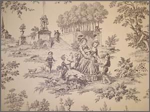 Toile Wallpaper.Toile De Jouy. Jacobean Toile. . Sanderson ...
