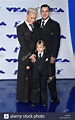Carey Hart, Pink, and Willow Sage Hart attending the 2017 ...